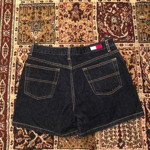 Vintage Tommy Hilfiger Logo Jean Denim Shorts